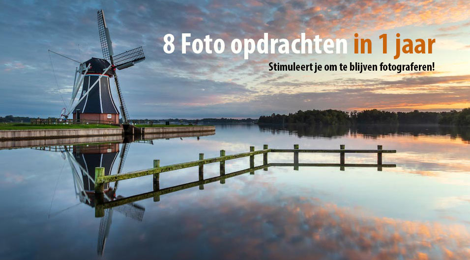 8 foto opdrachten in 1 jaar